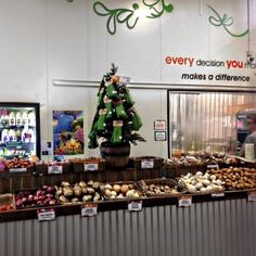 Its beginning to look a lot like Christmas - fruity sacks trees in Canara Organic Market Place a fantastic health foods store who stock @fruitysacks on the Sunshine Coast QLD