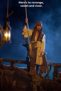 "Johnny Depp as Captain Jack Sparrow in the 2011 film, ""Pirates of the Caribbean: On Stranger Tides."""