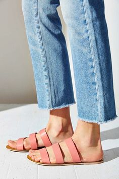 Pink strap sandals | style | fashion | shoes | summer