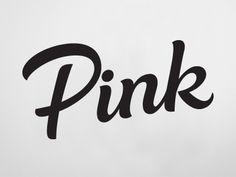 Pink_Rob Clarke Typography
