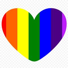 Love Png, Rainbow, Graphics, Heart, Pictures, Free, Image, Rain Bow, Photos