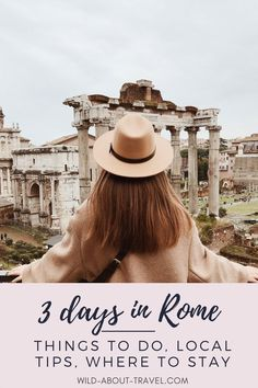 There's so much to do and see in Rome that planning your stay is not easy. Check out the best things to do in Rome in 3 days. Discover tips from a local and find out where to stay in Rome. Get ready for an unforgettable 3-day itinerary in Rome. Things to do in Rome | Rome local tips | Best of Rome | Where to stay in Rome | Rome attractions | Must-see in Rome | Rome travel tips #rome #bestofitaly #italytraveltips