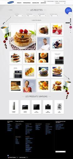 Samsung France recipes