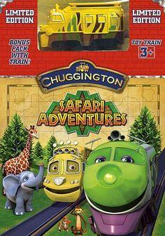 Chuggington: Safari Adventures DVD Region 1 in DVDs & Movies, DVDs & Blu-ray Discs   eBay
