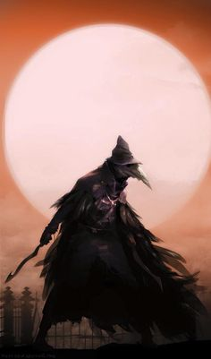 This is Eileen the Crow from Bloodborne. What I like from this is how, although…