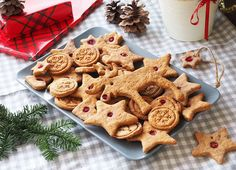 Just bought the ingredients to make these sugar free gingerbreadhellip Gingerbread Cookies, Sugar Free, Biscuit, Goodies, Desserts, Food, Gingerbread Cupcakes, Sweet Like Candy, Tailgate Desserts