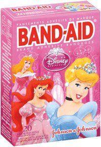 Band-Aid - Children's Adhesive Bandages, Disney Princess, Assorted Sizes 20 ea $2.54