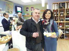 .....tasting Italian nougat from Benevento ! @FIBI's BtoB!!