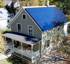 110-year old house converted into a net zero energy home.  The roof of the house is covered with solar panels producing efficient green energy. Insulated glass is used for the windows and at the same time the walls are given an improved insulation. A low pressure plumbing that reduces the dependency upon water is employed in the house. Overall repair and renovation cost of the house was $47130. Since photovoltaic panels were utilized, 12,500 kWh of green power was generated annually.