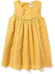 Eyelet-Trim Swing Dress for Baby $16.00