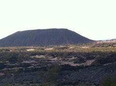 Crater and Town - Review of Amboy Crater, Amboy, CA - TripAdvisor