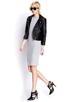 Sleek Heathered Dress | FOREVER21 - 2000070202 #F21CRUSH