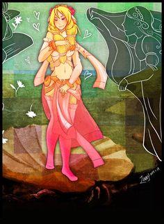 Smite - Aphrodite, Goddess of Love by Zennore.deviantart.com on @DeviantArt