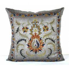Decorative Suzani pillow cover