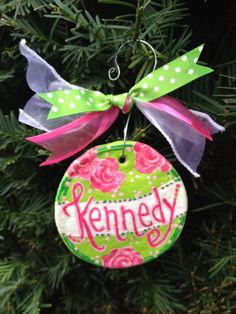 Salt Dough Ornament by katielbaldwin