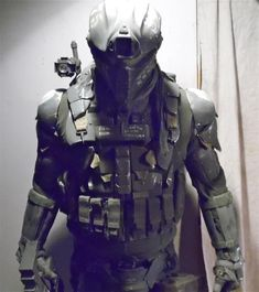 zombie armor! I think I know what I am getting Krista and Steven next year for Christmas