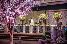 Wedding Decor - Trees  Flor & Cia