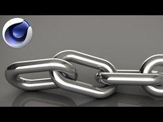 Cinema 4D Tutorial - Dynamic Chain (part 2: Dynamics) - YouTube