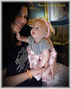 Reborn Girl Toddler Annie by Eleni Xenaki Kit Amelia by Donna