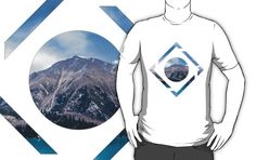 """Polygonal mountain view"" concept artwork."