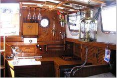 galley 1978 Tayana Mariner 36'