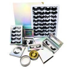 eyelash box vendor, design different kinds of lash box Eyelash Logo, Eyelash Case, 3d Mink Lashes, False Eyelashes, Silk Lashes, Makeup Beauty Room, Lashes Logo, For Lash, At Home Workout Plan