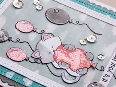 Stamping Smiles Designs: Birthday Card Featuring Newton's Nook Designs