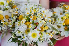 Daisy Bouquet -- I love that the flowers look like they were picked in a wild meadow!