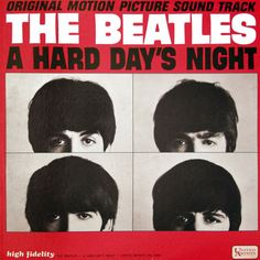 a hard days night album cover | check out a hard day s night original motion picture sound track