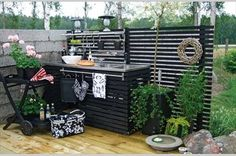 Kitchen Garden In The Kitchen Style 26 Outdoor Kitchen Sink, Outdoor Kitchen Design, Kitchen Floor, What Is Interior Design, Interior Design Pictures, Pantry Inspiration, Summer Kitchen, Outdoor Furniture Sets, Outdoor Decor