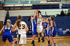 Lady Bucks Fight to the Finish Against Oscoda, to no avail