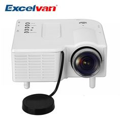 Excelvan UC28 Portable LED Projector Cinema Theater