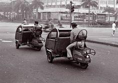 Helicak, build from lambreta scooter, one of the favorite , Jakarta tempo doeloe