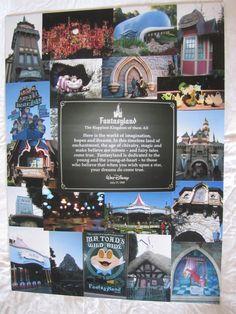 Disneyland Photo Collage: Fantasyland.