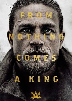 Charie Hunnam in 'King Arthur' via Charlie Hunnam source