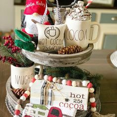 Looking for for pictures for farmhouse christmas tree? Check out the post right here for very best farmhouse christmas tree inspiration. This unique farmhouse christmas tree ideas appears to be terrific. Farmhouse Christmas Decor, Christmas Crafts, Farmhouse Decor, Christmas Kitchen, Christmas Quotes, Christmas Mugs, Country Christmas, Homemade Christmas, Farmhouse Style