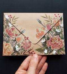 Diy Stationery Set, Stationery Paper, Stationary, Envelope Art, Envelope Design, Letter Writing, Letter Art, Mail Art Envelopes, Art Postal