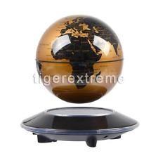 Levitation floating globe rotating magnetic suspending world map 6 levitation magnetic rotating floating levitating earth globe world map gold gumiabroncs Choice Image