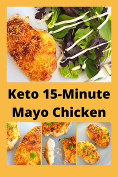 Easy Peasy Cheesy Mayo Chicken is quick and easy to make and is sure to become a family favorite. It's moist, flavorful and melt-in-your-mouth tender using one simple trick! #chicken #easyrecipe #weeknightdinner #mayo #30minutemeals Low Carb Chicken Thigh Recipe, Crockpot Chicken Thighs, Chicken Fajita Recipe, Low Carb Chicken Recipes, Recipes With Parmesan Cheese, Chicken Parmesan Recipes, Easy Baked Chicken, Baked Chicken Breast, Mayo Chicken