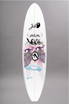 planche de surf jab the pusher 72 g ss14