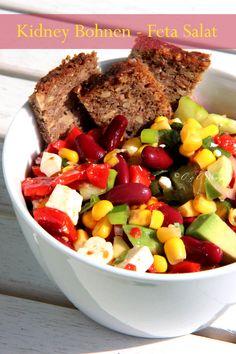 Kidney Bohnen - Feta Salat