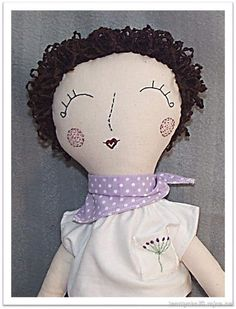 Pavla - Doll, sewed from photo.