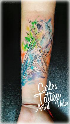 Trabalho exclusivo feito por:Tatuador Carlos Paranaguá