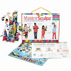 Mastersculpz Children's Sculpture Kits introduce children to modern art movements and inspire them to create their own sculptures. Free UK postage.