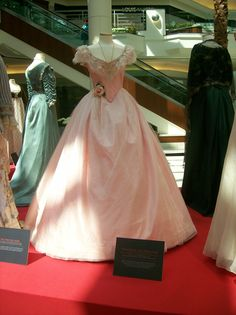 The gown worn by Emmy Rossum as Christine from The Phantom of the Opera, during the Masquerade musical sequence.