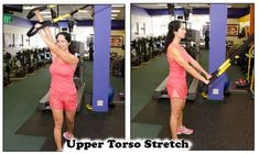 Suspension Stretch Gallery - Suspension Fitness & Beyond Stretches For Runners, Suspension Trainer, Stretch Bands, Workout For Beginners, Upper Body, Health And Wellness, Gallery, Fitness, Fashion