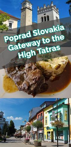 Poprad Slovakia Gateway to the High Tatras