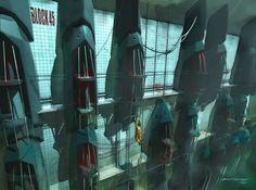 Viktor Antonov: Half life 2 Concept Artist  -  conceptroot