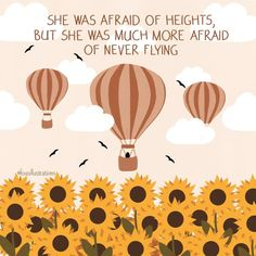 """Lou on Instagram: """"'She was afraid of heights, but she was much more afraid of never flying.' Prints and other products available via link in bio or directly…"""" You Are Worthy, Diy Canvas Art, Artist Names, Minimalist Art, Homescreen, Prints, Life Quotes, Instagram, Illustrations"""
