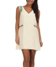 Look at this Off-White Estella Dress on #zulily today!